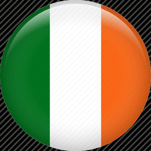 country, flag, ireland, nation icon