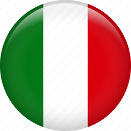 country, flag, italy, nation icon