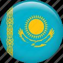 kazakhstan, country, flag, nation