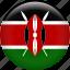 country, flag, kenya, nation icon