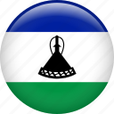 country, flag, lesotho, nation icon