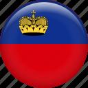 liechtenstein, country, flag, nation