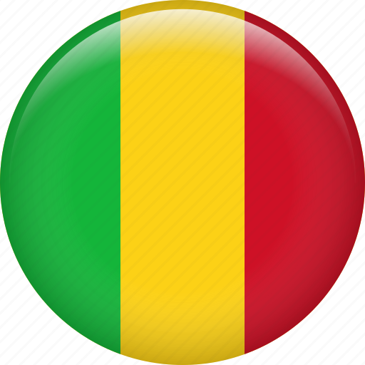 country, flag, mali, nation icon