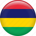 country, flag, mauritius, nation icon