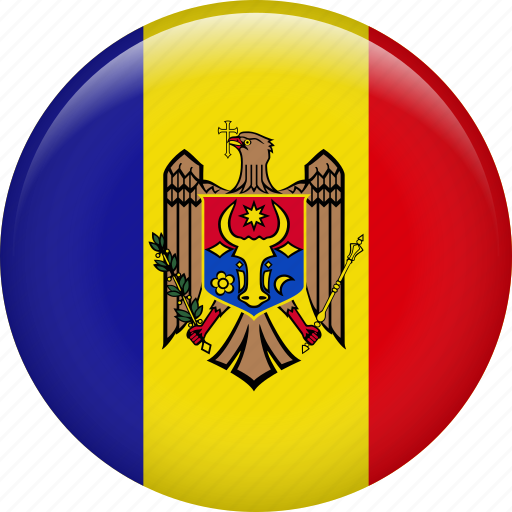 country, flag, moldova, nation icon