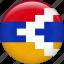 flag, nagorno-karabakh republic, nation icon