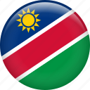 country, flag, namibia, nation icon