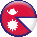 nepal, country, flag, nation
