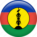 flag, nation, new caledonia icon