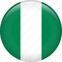 country, flag, nation, national, nigeria icon