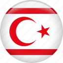 country, flag, nation, northern cyprus icon