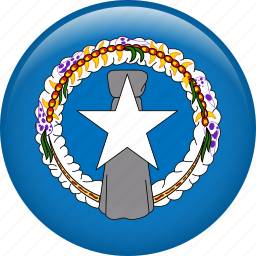 country, flag, nation, northern mariana islands icon