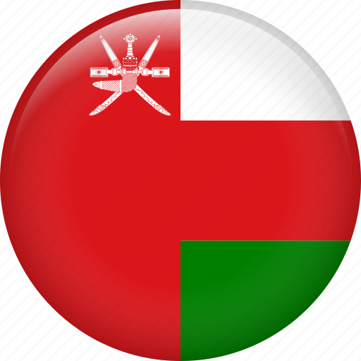 country, flag, nation, oman icon