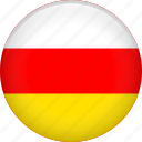 country, flag, nation, ossetia icon