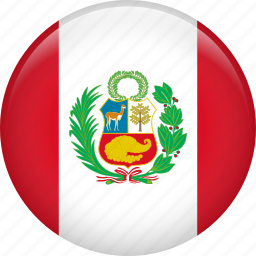 country, flag, nation, peru icon