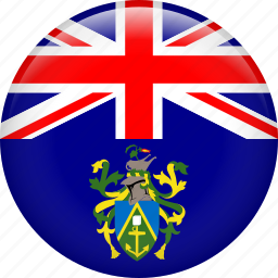 country, flag, pitcairn islands icon