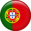 country, flag, nation, portugal icon