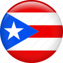 country, flag, nation, puerto rico icon
