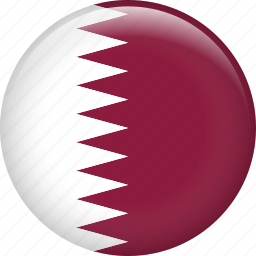country, flag, nation, qatar icon