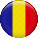 romania, country, flag, nation