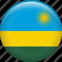 rwanda, country, flag, nation