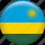 country, flag, nation, rwanda icon
