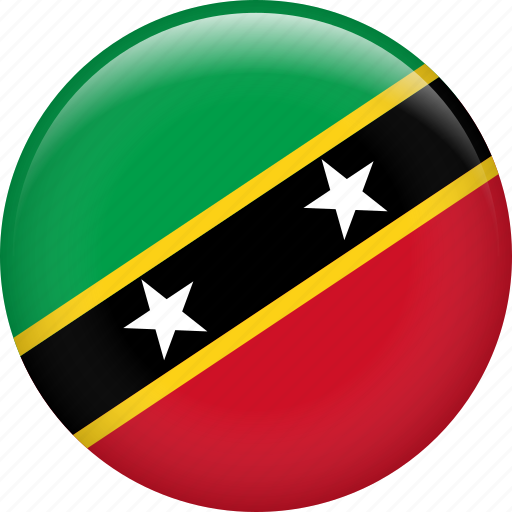 country, flag, nation, saint kitts and nevis icon