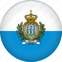 country, flag, nation, san marino icon
