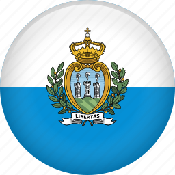 country, flag, nation, san marino icon