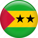 country, flag, nation, sao tome and principe icon