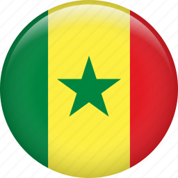 country, flag, nation, senegal icon