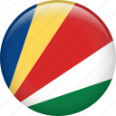 country, flag, nation, seychelles icon