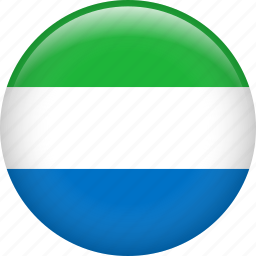 country, flag, nation, sierra leone icon