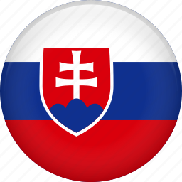 country, flag, national, slovakia icon