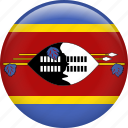 swaziland, country, flag, nation