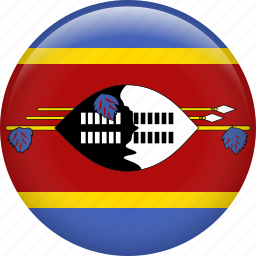 country, flag, nation, swaziland icon