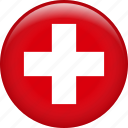 switzerland, country, flag, swiss
