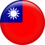 country, flag, taiwan icon