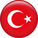 turkey, country, flag