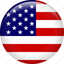 america, american, flag, state, united, united states of america, usa icon
