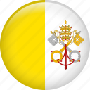 flag, nation, vatican, vatican city icon