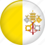 flag, nation, vatican, vatican city icon