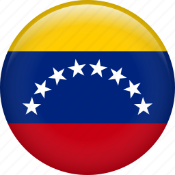 country, flag, nation, venezuela icon