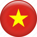 vietnam, country, flag, nation