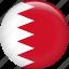 bahrain, country, flag, nation icon