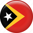 country, east timor, flag, nation, timor-leste icon