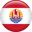 country, flag, french polynesia, nation icon