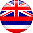country, flag, hawaii, nation icon