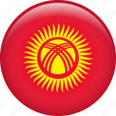 country, flag, kyrgyzstan, nation icon