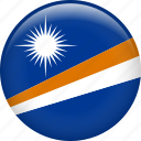 flag, marshall islands, nation icon
